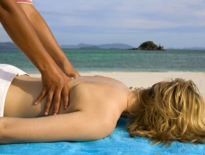 Beach massage
